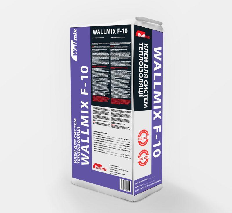 Клей для систем теплоізоляції WALLMIX F-10