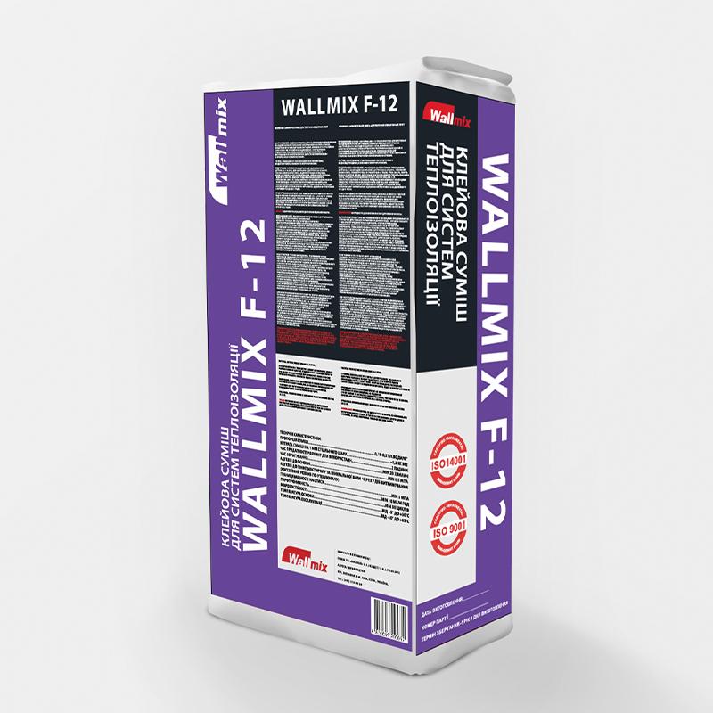 Клейова суміш для систем теплоізоляції WALLMIX F-12
