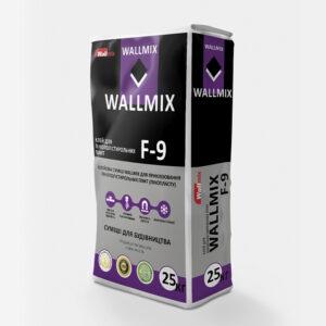 Клей для пінополістирольних плит WALLMIX F-9
