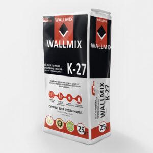 Клей для плитки високоеластичний WALLMIX К-27