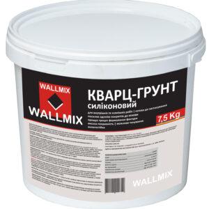 Грунтовка адгезійна Кварц-грунт силіконовий WALLMIX 5L